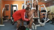 Unbelievable slut got banged at the gym
